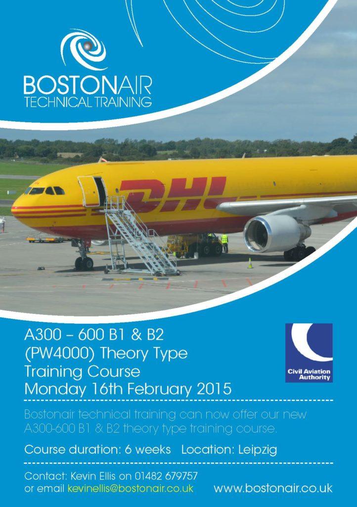 A300-600 B1/B2 training course