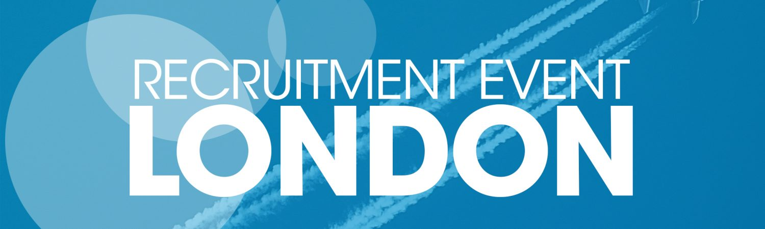 Bostonair are excited to announce that we will be hosting a Recruitment Event at London…